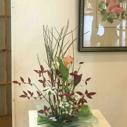 Ikebana,  'Flower arrangement'